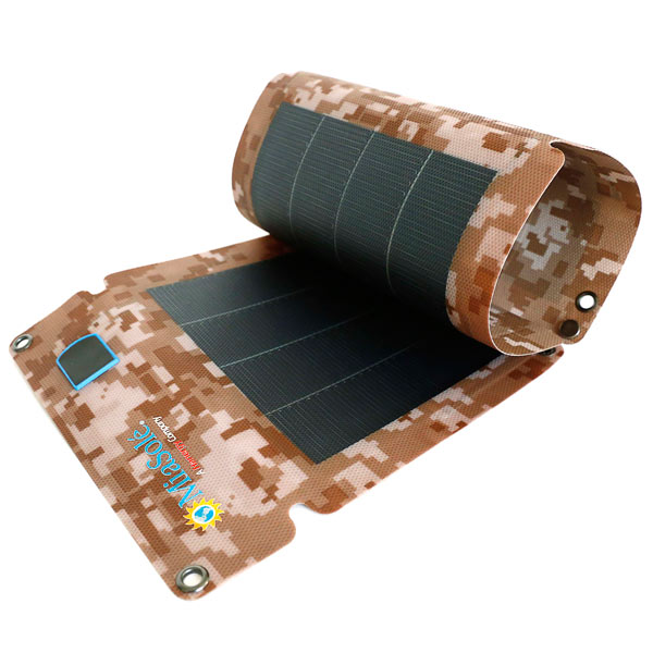 12W Folding CIGS Solar Charger