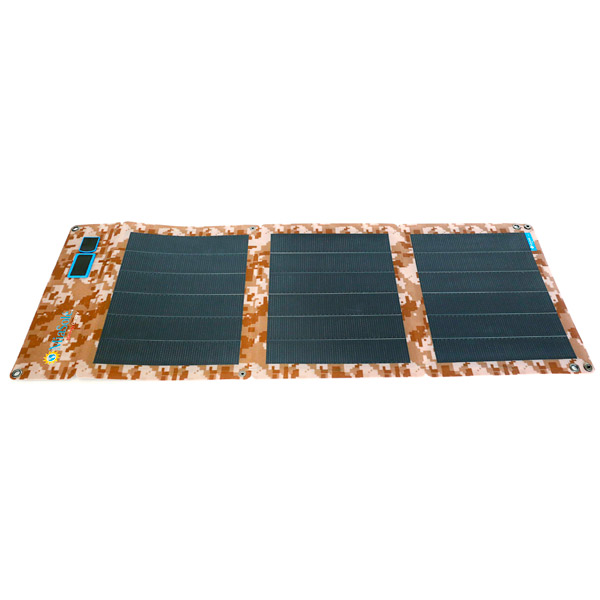 24W Folding CIGS Solar Charger